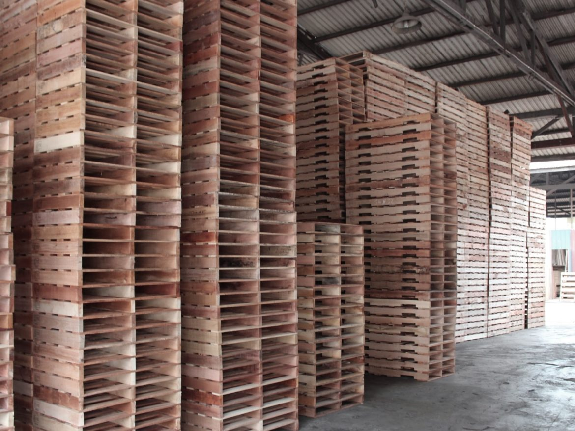 Uses Of Timber Pallets In Construction Industry: